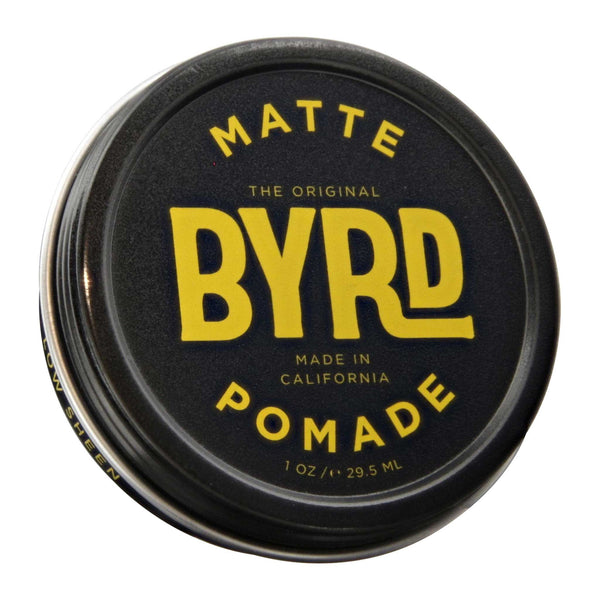 Byrd Matte Pomade Top