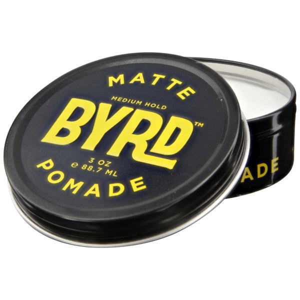 Byrd Matte Pomade 2.5 oz Open