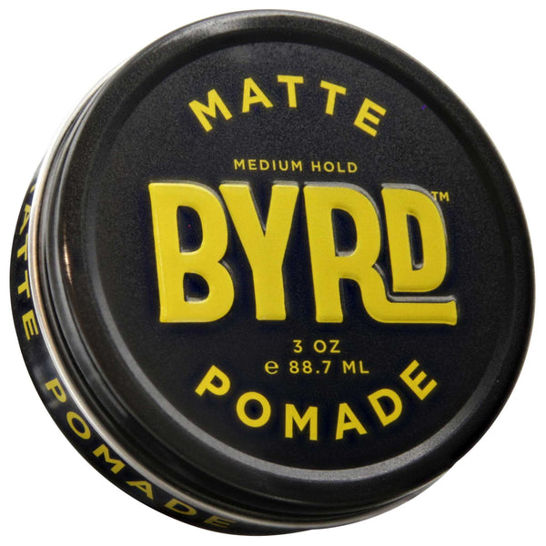 Byrd Matte Pomade 2.5 oz Top