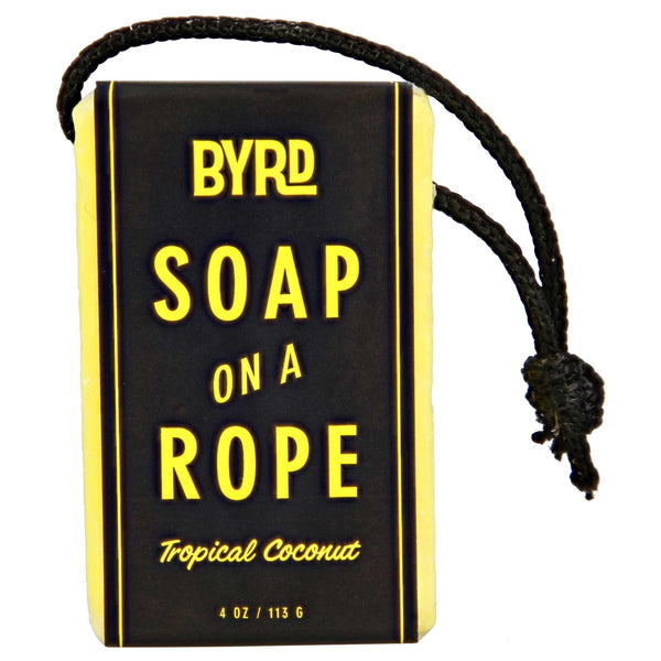 Byrd Soap on a Rope 4 oz packaging box