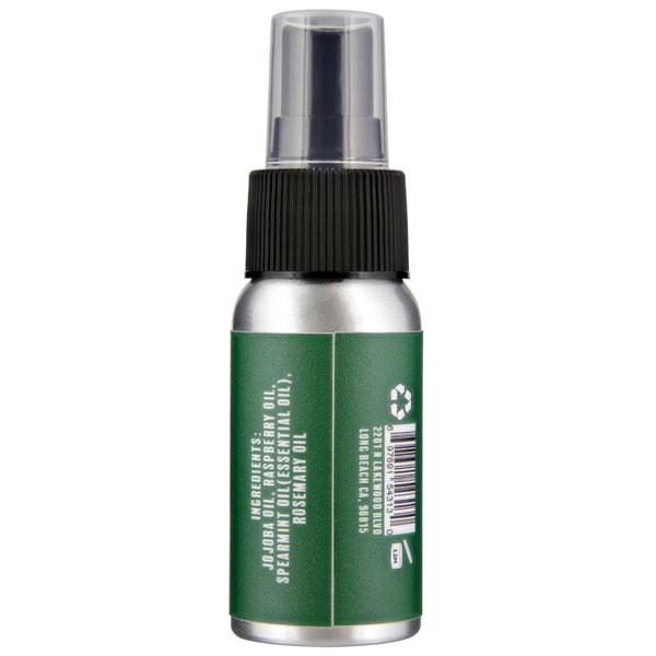 Calidog Spearmint Beard Oil side label