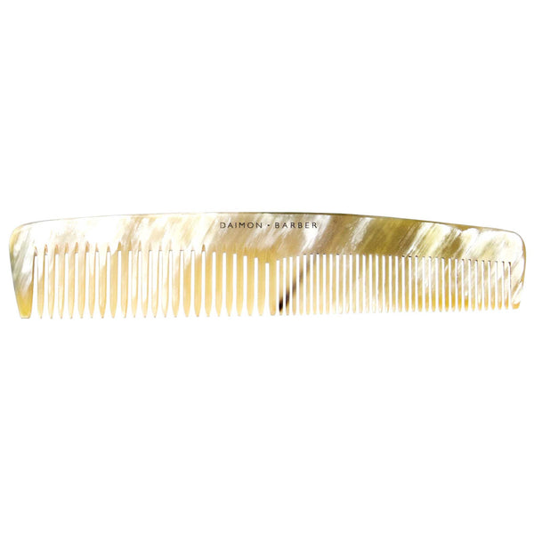 The Daimon Barber Horn Comb
