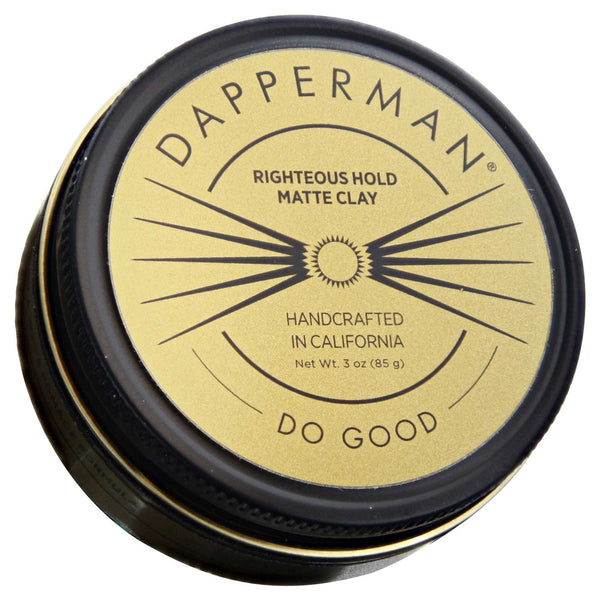 Dapper Man Matte Clay Top