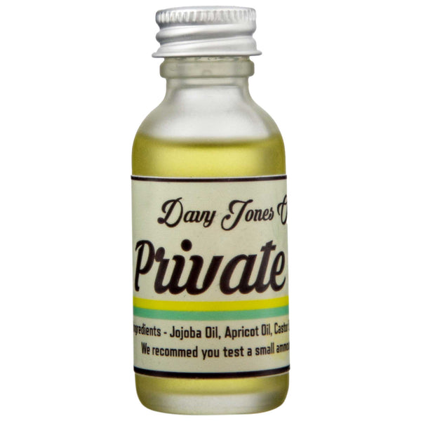 Davy Jones Oil and Wax Premium Beard Oil Front Label