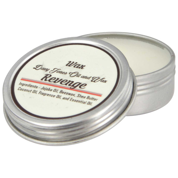 Davy Jones Oil and Wax Premium Mustache Wax Open