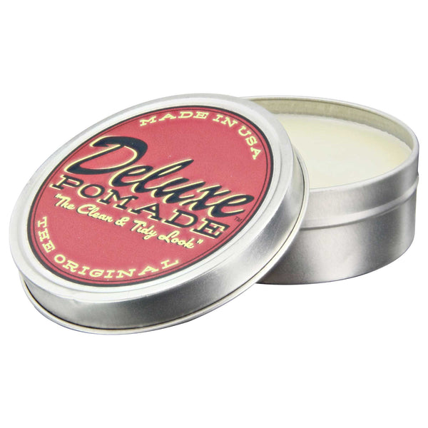 Deluxe Pomade Open