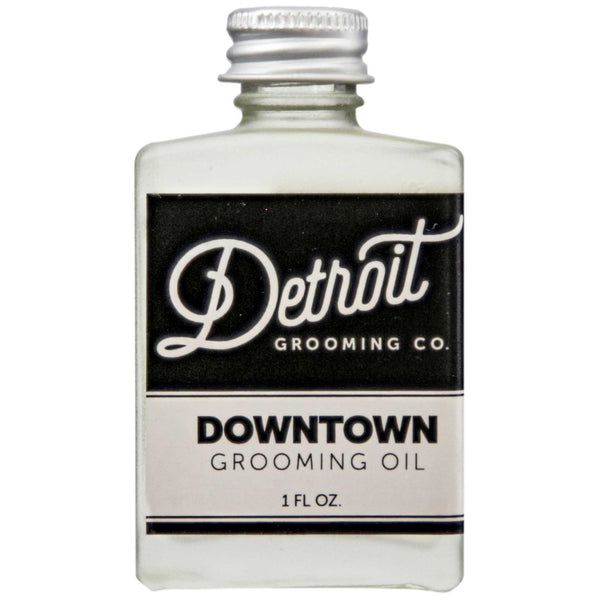 Detroit Grooming Downtown Beard Oil Front