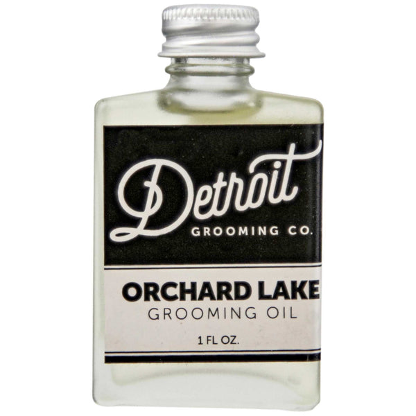 Detroit Grooming Orchard Lake Beard Oil Front