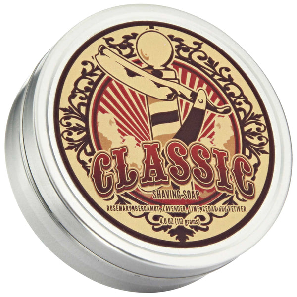 Dr. Jon's Classic Shave Soap Top Label