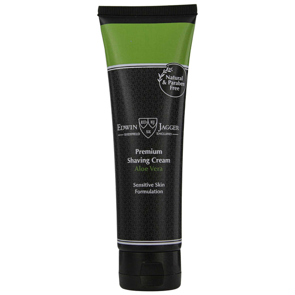 Edwin Jagger Aloe Vera Shave Cream 99% all natural ingredients