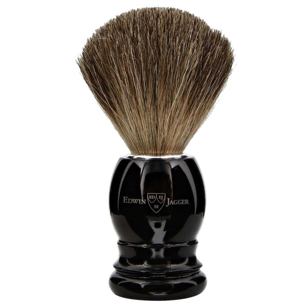 Edwin Jagger wet shave brush for safety or straight razor shaving