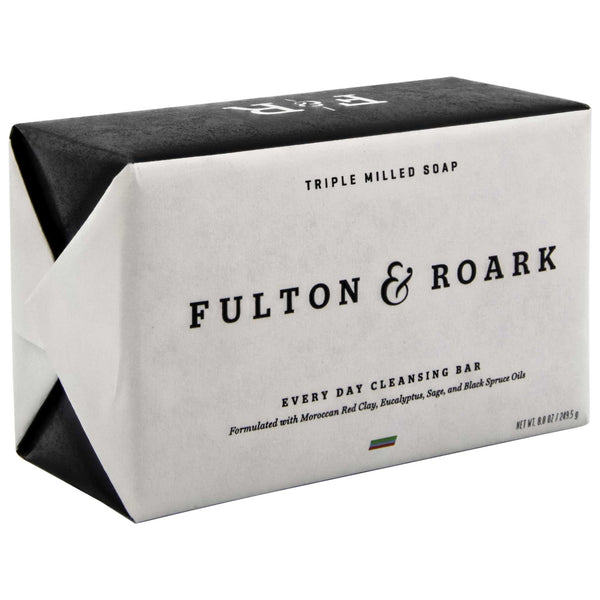 Fulton & Roark Bar Soap packaging