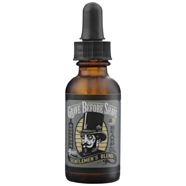 Beard Oil Gentlemen's Blend Front Label