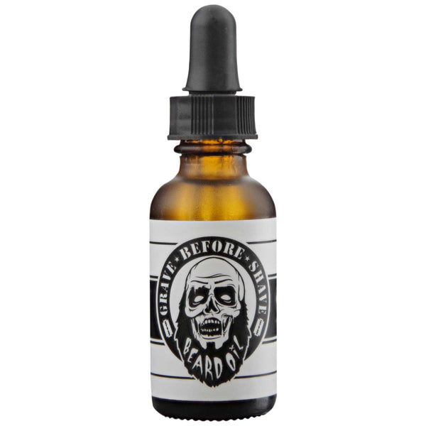 Beard Oil Original Scent Front Label