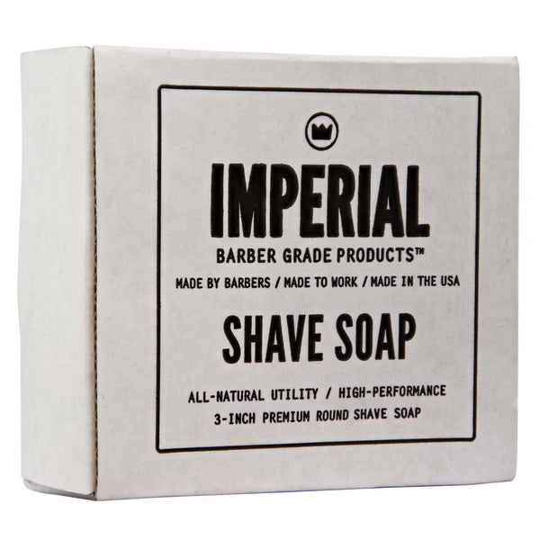 Imperial Glycerin Shave Soap Box