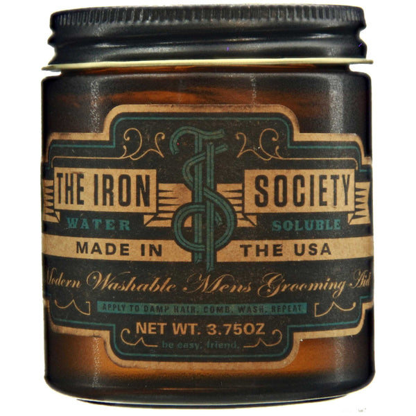 The Iron Society Water Soluble Pomade