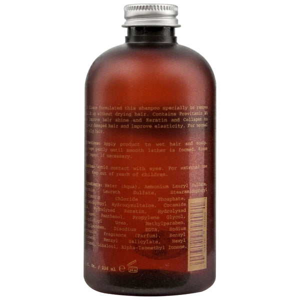 bottle of shampoo from JS Sloane that is deep cleaning without drying