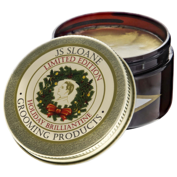 JS Sloane Heayweight Brilliantine Holiday Edition- open