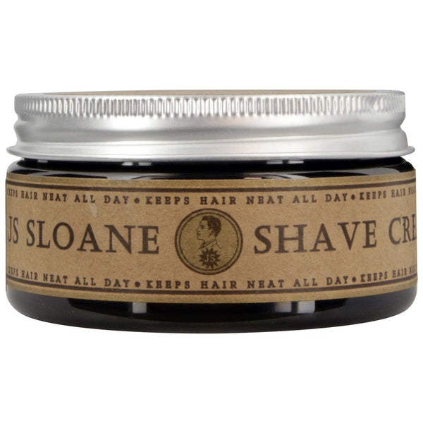 JS Sloane Shave Cream Front Side Label