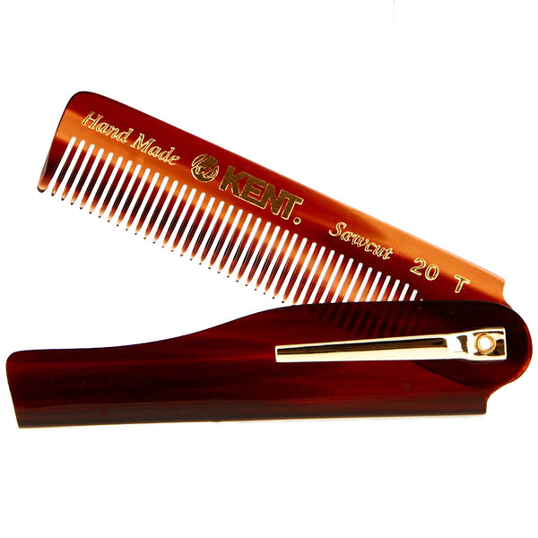 Kent Comb 20T Saw cut and handmade Fine toothed