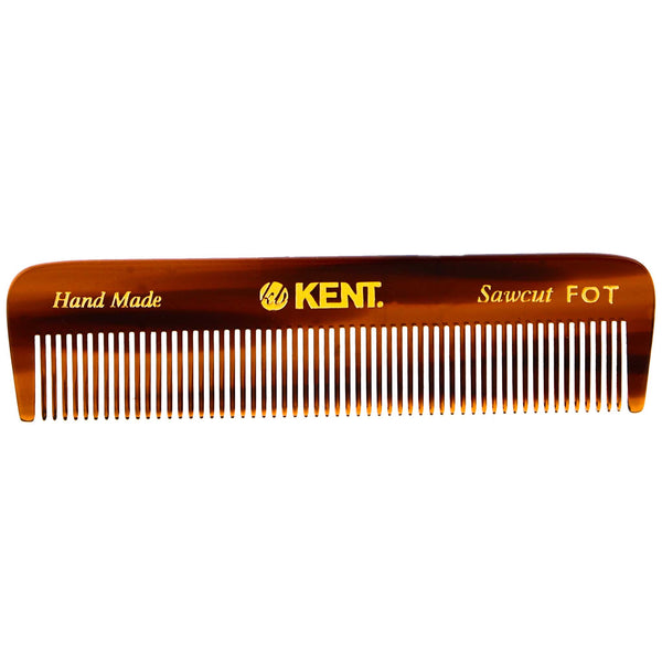 Saw cut and handmade Fine toothed comb from Kent