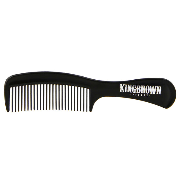 comfortable handle comb from King Brown pomade