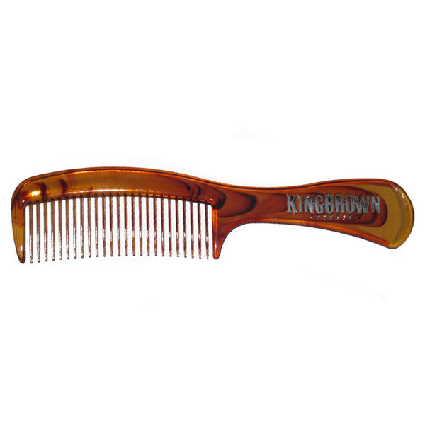 King Brown Tort Handle Comb