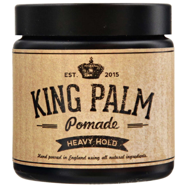 King Palm Heavy Pomade Vegan