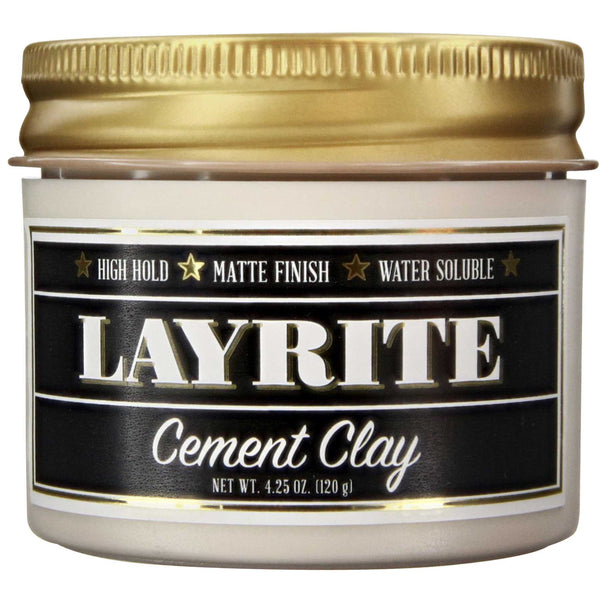 Layrite Cement Hair Clay Side