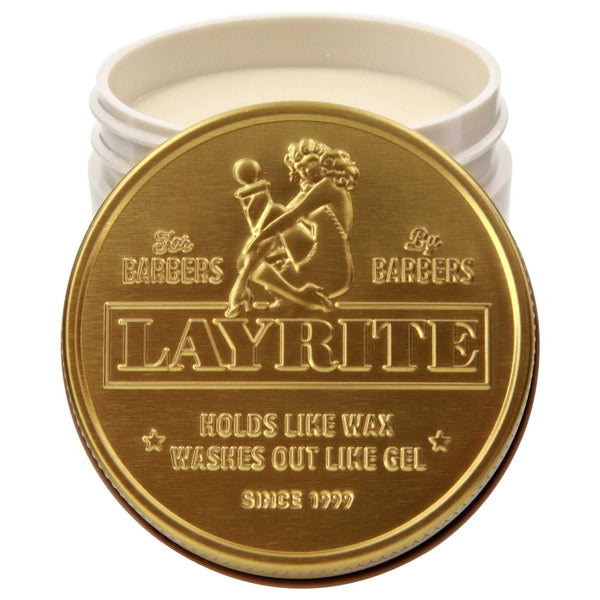 Layrite Super Shine Pomade Open