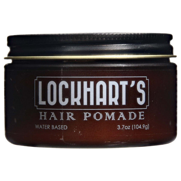 Lockhart's Water Based Pomade Side Label