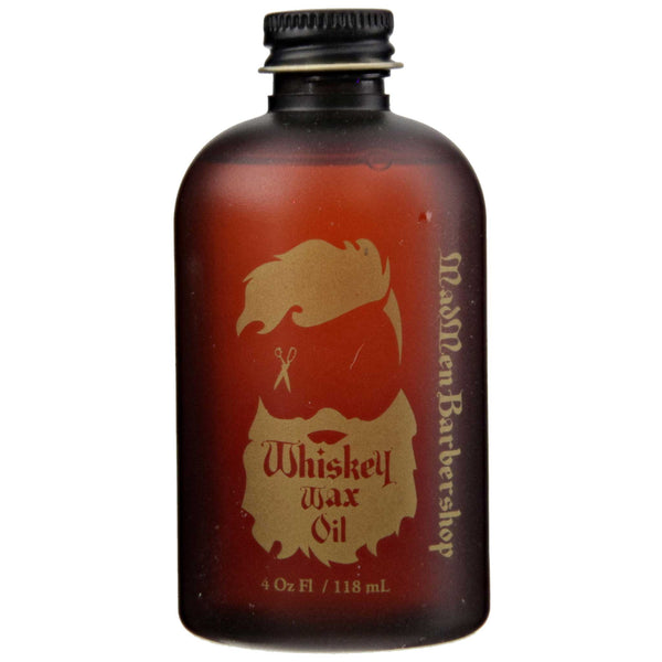 Whiskey Wax Oil Front Label