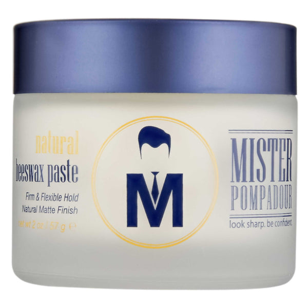 Mister Pompadour Natural Beeswax Paste