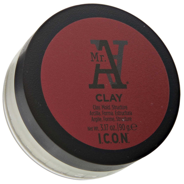 Mr. A Clay Pomade Top Label