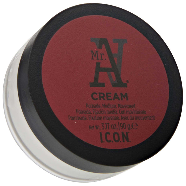 Mr. A Cream Pomade Top Label