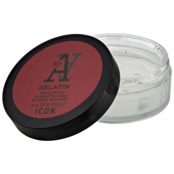 a clear gelatin hair product that gives great hold