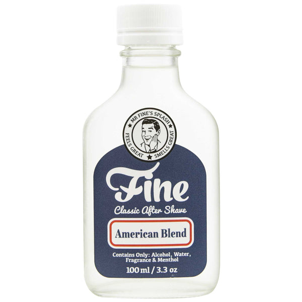 Healing and nourishing Mr. Fine American Blend After Shave
