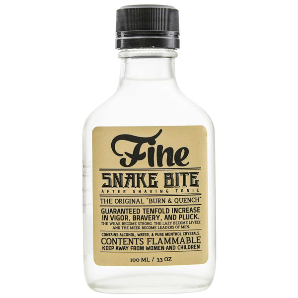 The most powerful aftershave in the world Mr. Fine Snake Bite