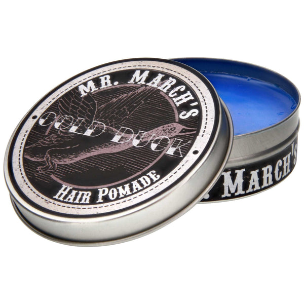 Mr. March's Cold Duck Pomade Open