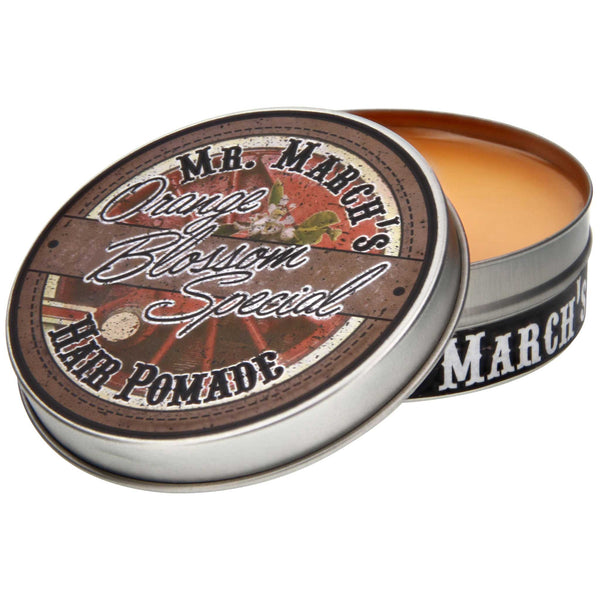 Mr. March's Orange Blossom Pomade Open