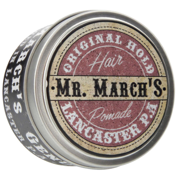 Mr. March's Original Pomade Top Label