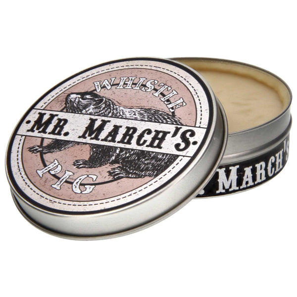 Mr. March's Whistle Pig Pomade Open