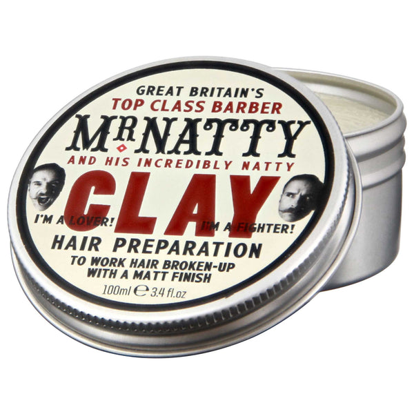 Mr Natty Clay Pomade Open