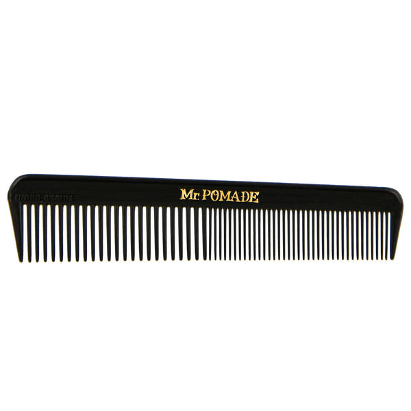 Mr. Pomade Black Comb for traveling and adventure