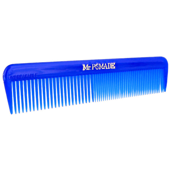 side view of mr. pomade blue comb