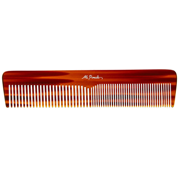 This comb is comfortable in the hand and its size makes styling easy