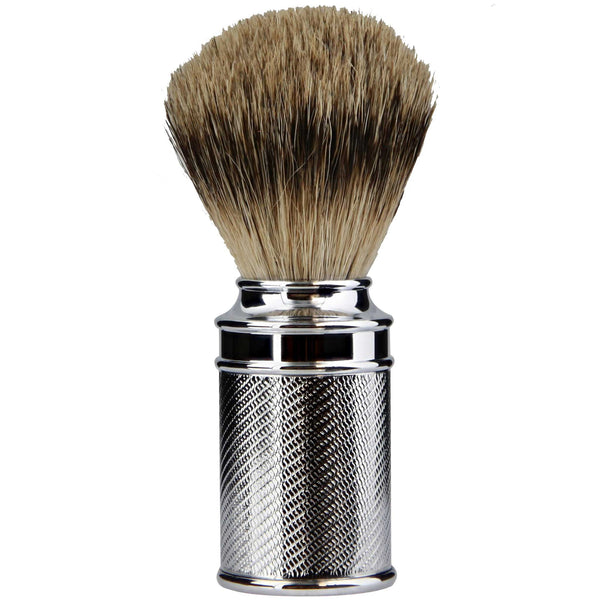 A shaving brush that will feel like heaven when lathering the face