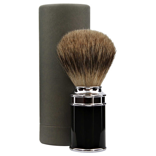 ultra fine and wonderful quality silvertip badger hair shave brush