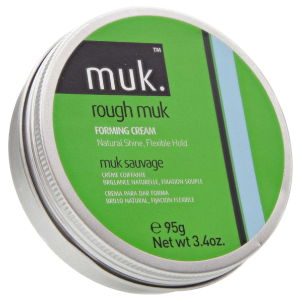 Rough Muk Pomade Top Label