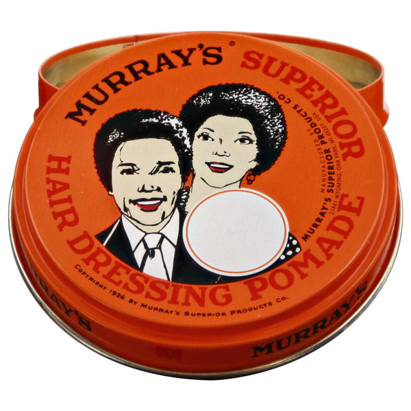 Murray's Superior Hair Dressing Pomade Open